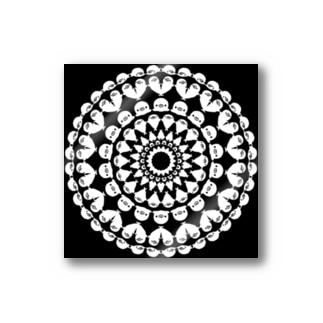 黒いアザラシ Stickers