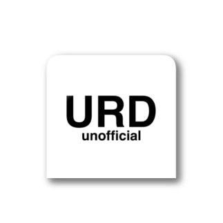 【URD_unofficial 】 Official ステッカー Stickers