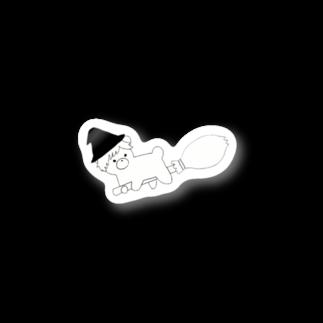 りえの魔女子グマ Stickers