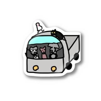 軽トラシリーズ ルリポチーム Stickers