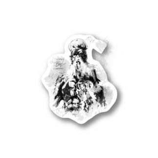 neosry2097 ミュージックグッズDBコスチューム Stickers