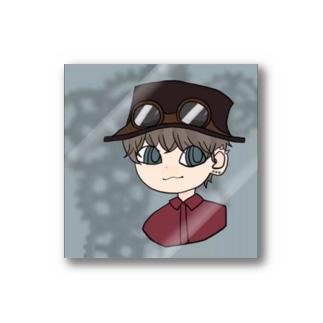 -//*スチームパンクの男の子 Stickers