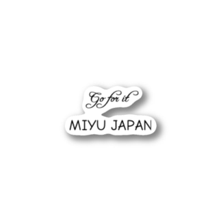 miyu_japan Stickers