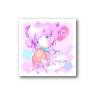 ストロベリ~ちゃん Stickers