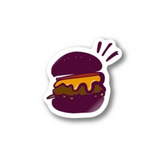 チーズなburger Stickers