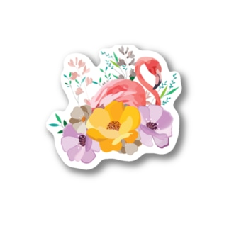 flamingo!! Stickers