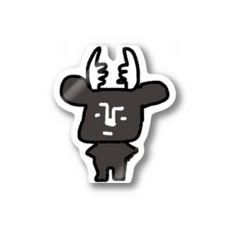 黒BUSHIKA Stickers