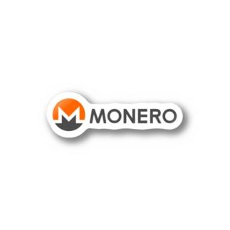 Monero モネロ Stickers