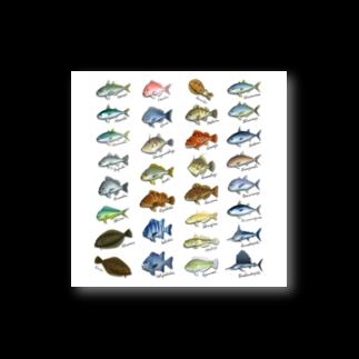 猫と釣り人のSAKANA_SB1_ST Stickers