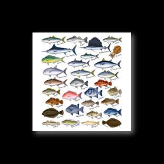猫と釣り人のSAKANA_SB2_ST Stickers