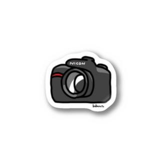NICONカメラ Stickers