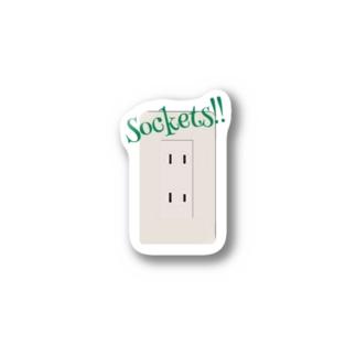 配線用差込接続器 Stickers