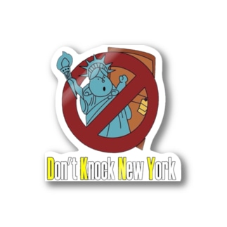 Don't knock New York Stickers