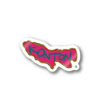 混沌と東京(Konton to Tokyo) Stickers