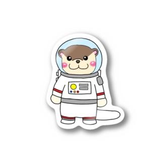宇宙飛行士カワウソ Stickers