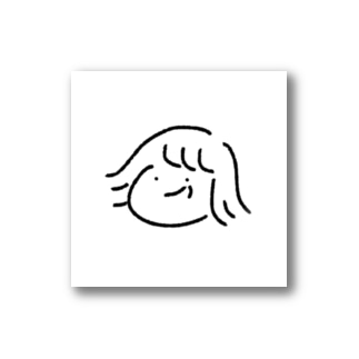 たくらむ女の子 Stickers
