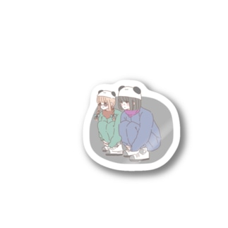 熊猫倶楽部 Stickers