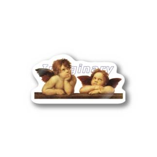 Imaginaryとangel 天使 Stickers