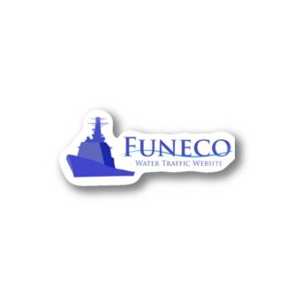 funeco.jp 公式グッズ Stickers