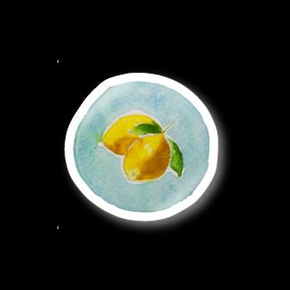 7センチの檸  檬 Stickers