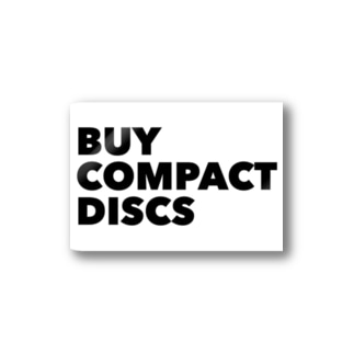 BUY COMPACT DISCS Stickers