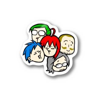 駄ステ【みっちり】 Stickers