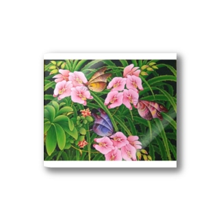 Orchid Garden  Stickers