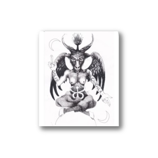 Baphomet Stickers