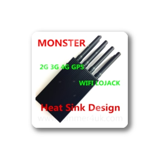 Portable Cell Phone Jammer Stickers