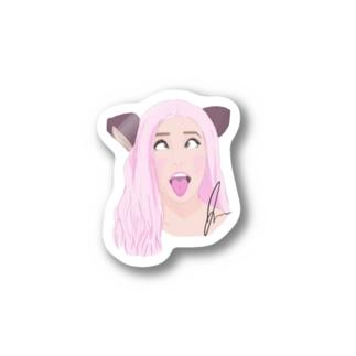 アヘ顔 Stickers