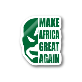 MAKE AFRICA GREAT AGAIN Stickers