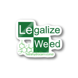 Legalize It ! のCK - THC Stickers