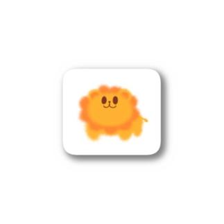 らいおんさん Stickers