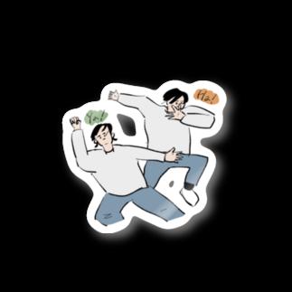 もりかわのya!ha! Stickers