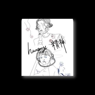 yumiiiiiのハングリー精神 Stickers
