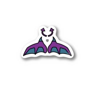 悪魔のグッズ Stickers