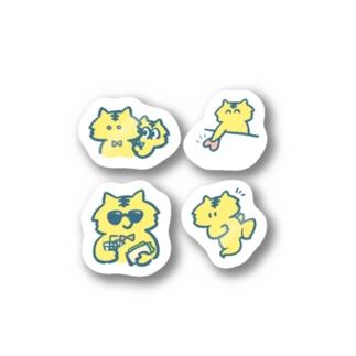 とらのステッカー! Stickers