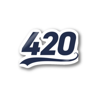 420 Stickers