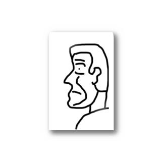 横顔さん Stickers
