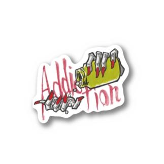 Addict・Drug Stickers