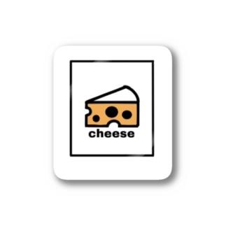 チーズ Stickers