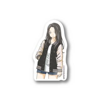 スタジャンガール Stickers