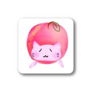 ©️ゆるマイ  りんご猫 Stickers