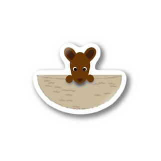 Baby Kangaroo Stickers