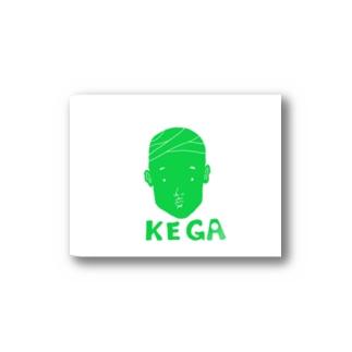タローデザインKEGA Stickers