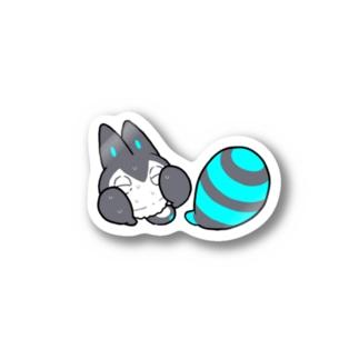仮媒体マスコット(焦り) Stickers