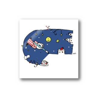 夜空くん Stickers