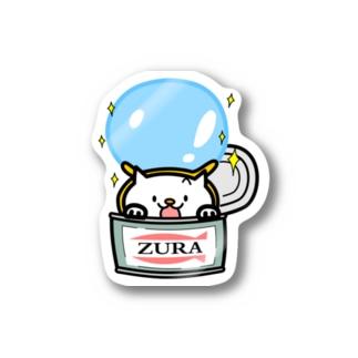 ZURA缶 Stickers
