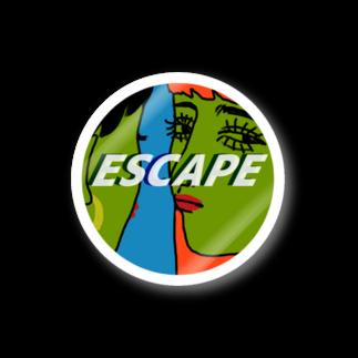 ESCAPEのギル Stickers