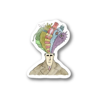 Monster in my head Stickers